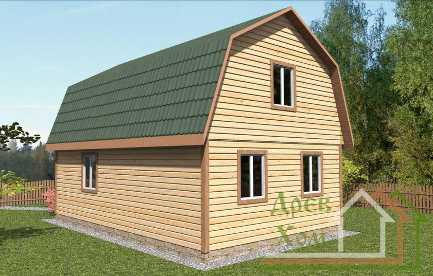 Построить деревянный дом бруса