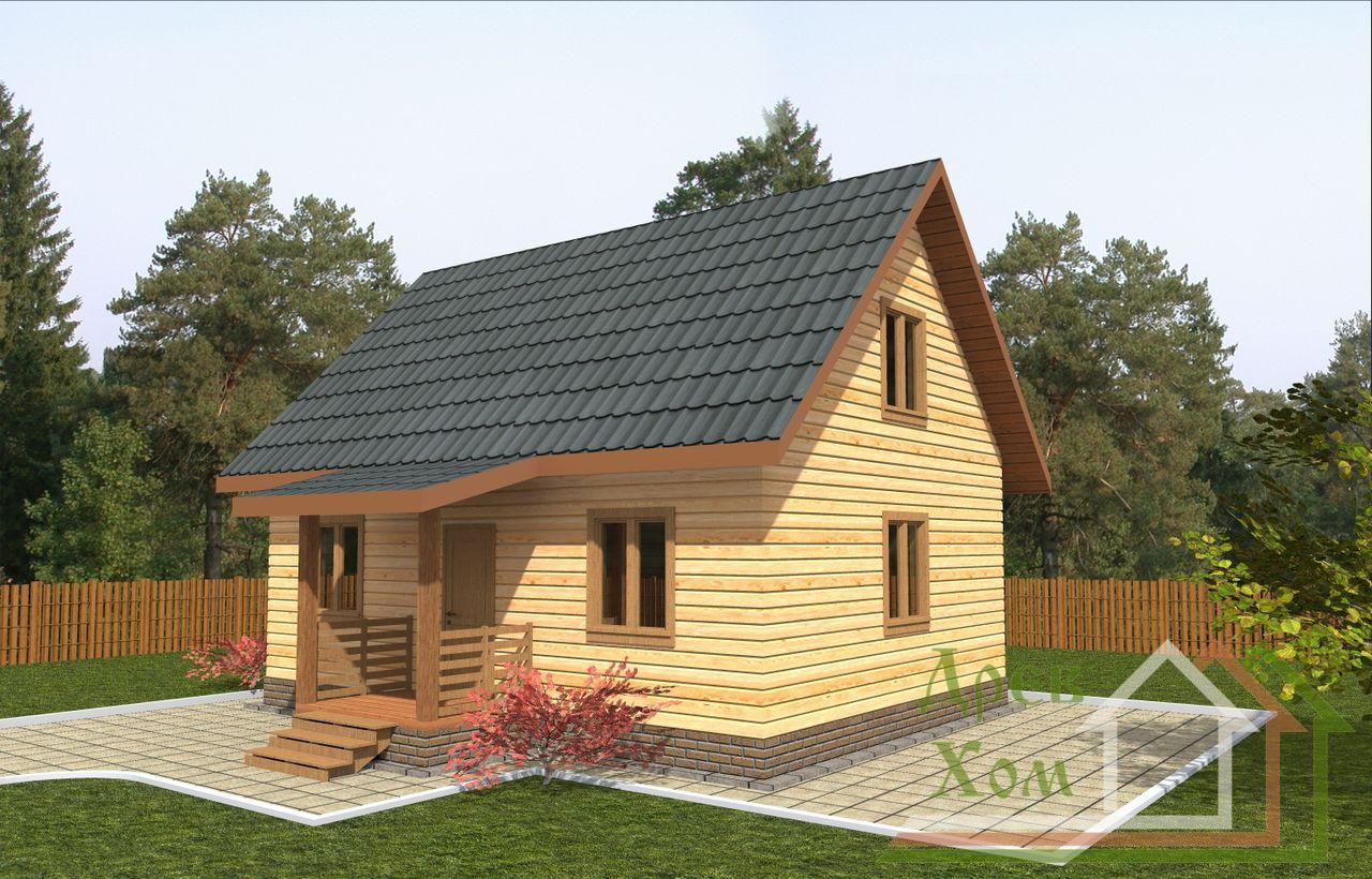 Построить деревянный дом